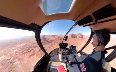 Najszybszy przelot helikopterem nad 48 amerykańskimi stanami