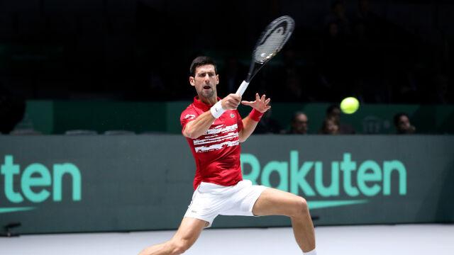 Djoković wygrał i Serbia gra dalej w Pucharze Davisa