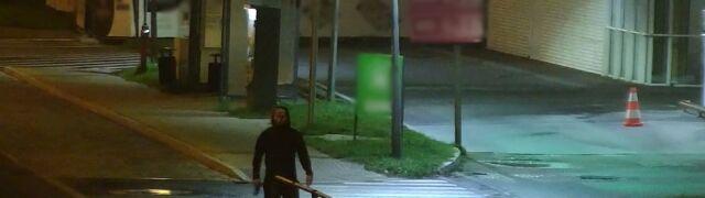Zagroził bronią obsłudze stacji paliw i zażądał hot doga