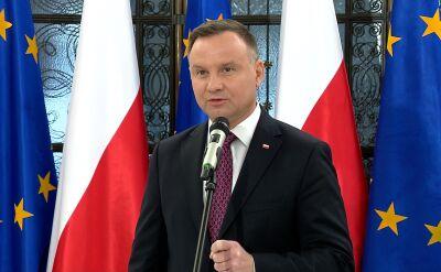 Prezydent skomentował expose premiera