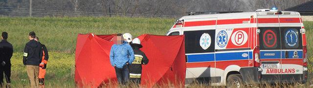 Wiatrakowiec rozbił się na lotnisku pod Warszawą. Zginął mistrz świata w motolotniarstwie