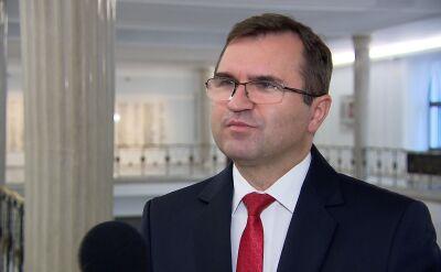 Girzyński: pojawiły się wątpliwości polityczne