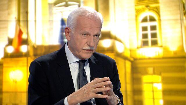 """Andrzej Olechowski w """"Faktach po Faktach"""" wspomina Jana Olszewskiego"""