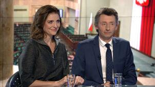 Joanna Mucha i Maciej Gdula w