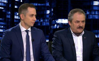 """Marek Jakubiak i Cezary Tomczyk w """"Kropce nad i"""". Cała rozmowa"""