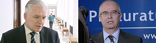 Gowin krytykuje prokuraturę, ale Seremeta oszczędza