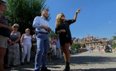 """Beata Kozidrak pokazała Lublin i zaśpiewała we """"Wstajesz i wakacje"""""""