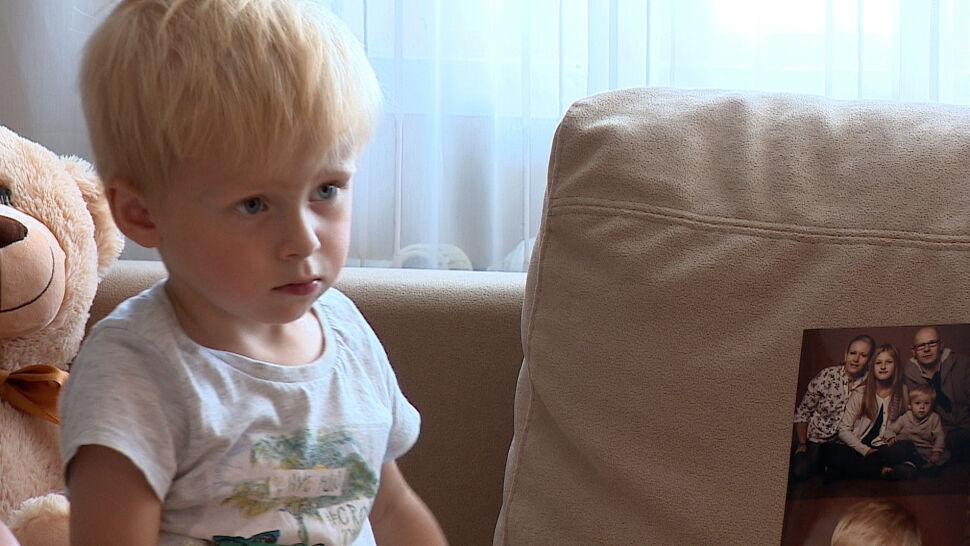 2,5-letni Dawidek dzielnie walczy o życie. Konieczna jest operacja. Też możesz mu pomóc