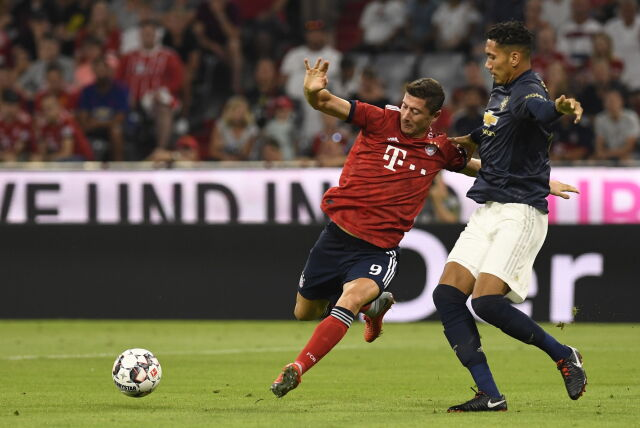 Lewandowski wrócił do gry. Bayern ograł Manchester