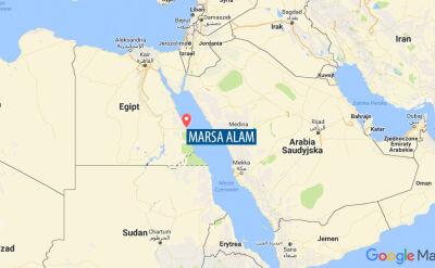 Rekin zaatakował turystę w egipskim kurorcie Marsa Alam