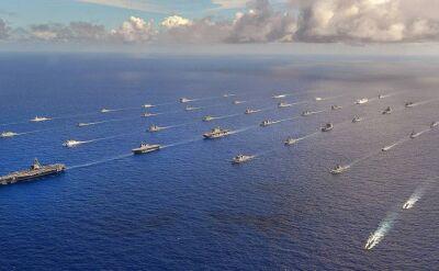 Sesja zdjęciowa morskiej armady