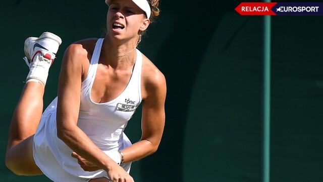 Linette żegna się z Wimbledonem [RELACJA]