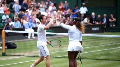 Andy Murray i Serena Williams wygrali swój pierwszy wspólny mecz