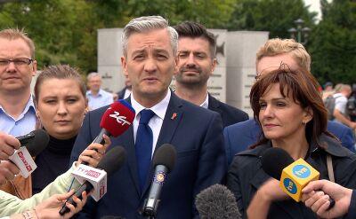 Biedroń przedstawia scenariusze na wybory parlamentarne