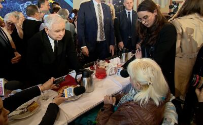 Kaczyński: jest taka prośba o to, aby nas popierać, a nie przeszkadzać