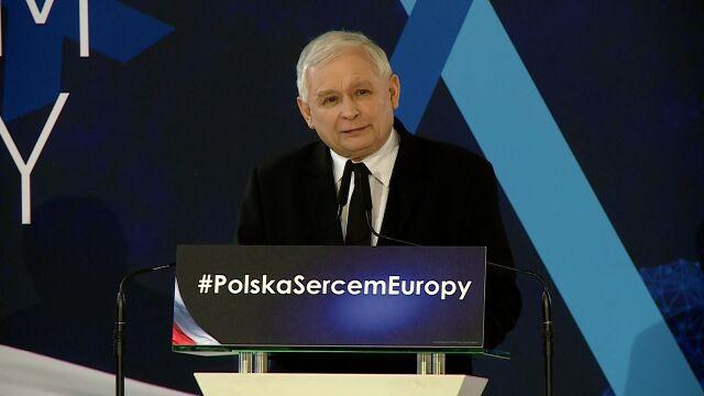 """Kaczyński ostrzega przed powrotem PO do władzy. """"Będzie łamanie demokracji"""""""