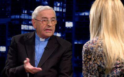 Biskup Pieronek: kto grzeszy, ten płaci