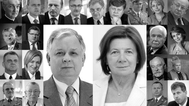 Zginęli 10 kwietnia 2010 roku pod Smoleńskiem. Lista ofiar katastrofy