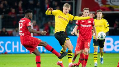 Siedem goli w Leverkusen. Borussia i Haaland zatrzymani