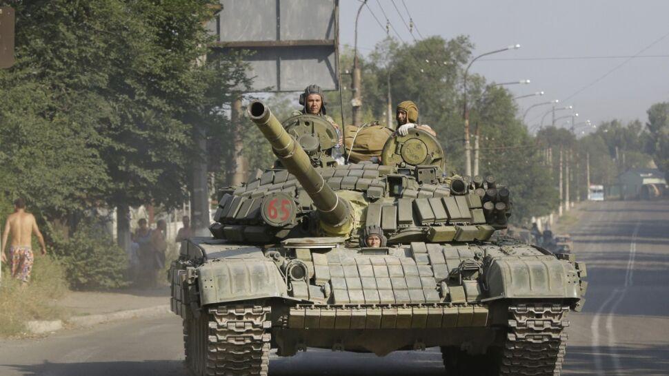 Kijów: w Donbasie walczą cztery taktyczne grupy batalionowe armii Rosji