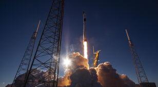 Wystrzelono rakietę Falcon 9. Niesie na orbitę wojskowy nadajnik GPS