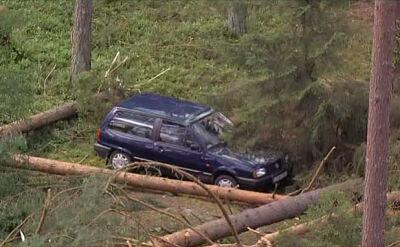 Kierowca porzuconego auta odnaleziony