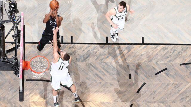 Genialny i historyczny występ Duranta. Nets blisko awansu