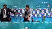 Locatelli powtórzył gest Cristiano Ronaldo. Woda zamiast napoju gazowanego