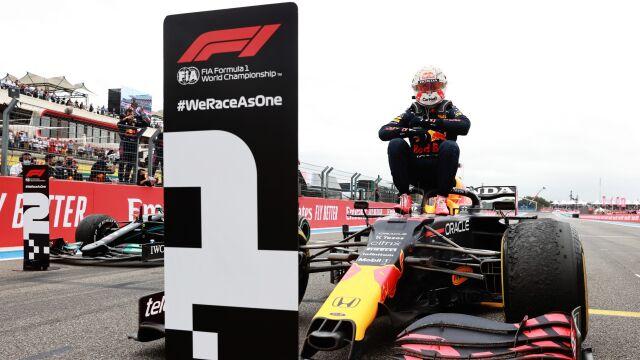 Verstappen wygrał we Francji. Sezon Formuły 1 należy na razie do niego
