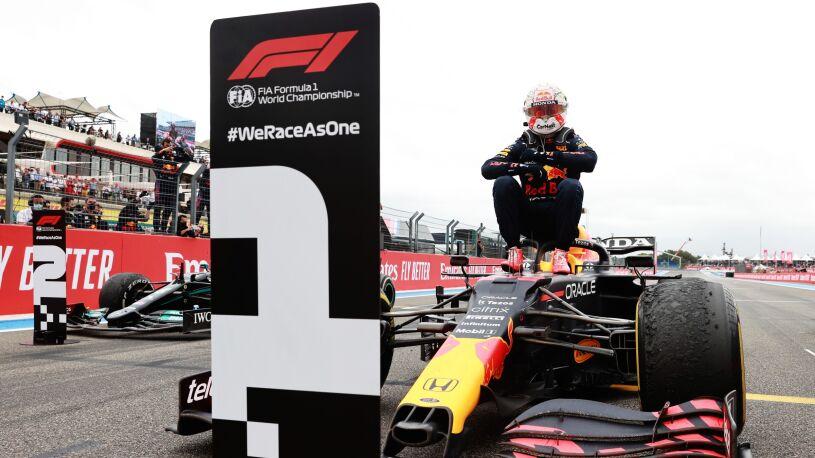 Lider nie zwalnia. Verstappen wygrał we Francji