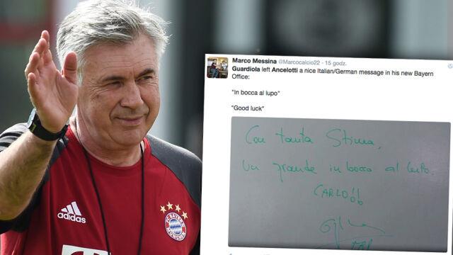 Ancelotti rozpoczął pracę w Bayernie