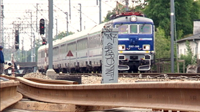 Jak pijany 33-latek zatrzymywał pociągi