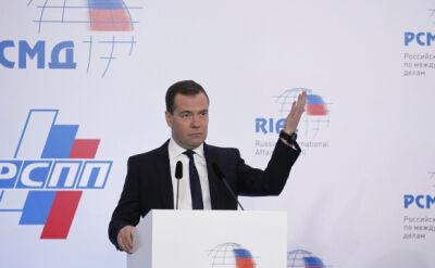 Andrzej Zaucha o słowach Miedwiediewa o Cyprze