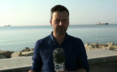 Relacja reportera TVN24 z Cypru