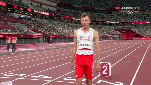 Tokio. Borkowski ósmy w biegu półfinałowym na 800 metrów