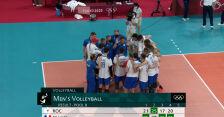 Tokio. Skrót meczu Francja – Rosyjski Komitet Olimpijski w turnieju siatkarzy
