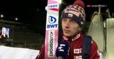 Kubacki po piątkowym konkursie w Lahti
