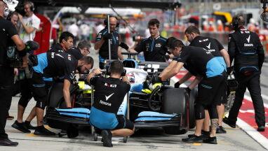Williams podał przyczynę wycofania Kubicy z wyścigu. Russella pogrążyła nakrętka