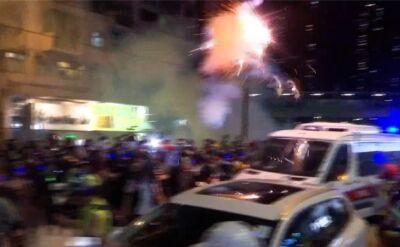 Szesnasty tydzień protestów w Hongkongu