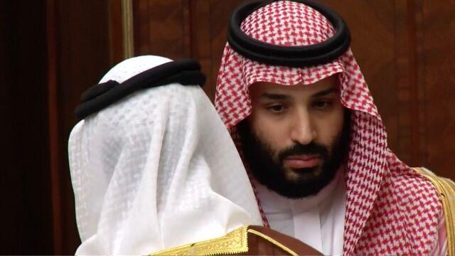 Saudyjski następca tronu zabiera głos.
