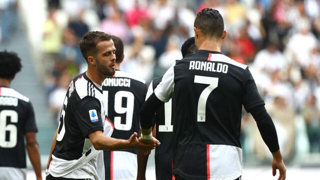Szczęsny na ławce, Juventus zwycięski