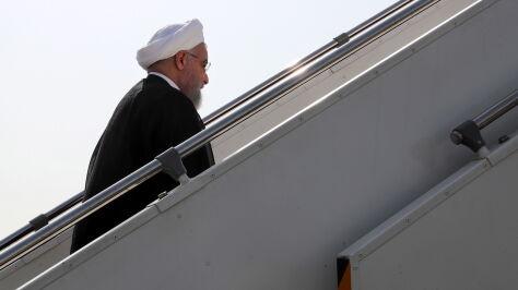 """Irańczycy w Nowym Jorku  z """"przesłaniem pokoju  i stabilności"""""""
