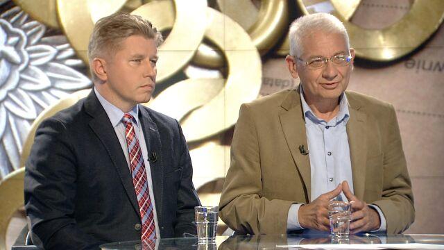 "Prof. Marcin Matczak i Ludwik Dorn w ""Faktach po Faktach"""
