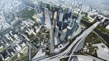 Projekt najwyższego budynku w Moskwie