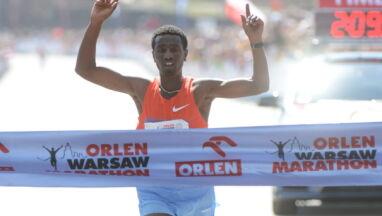 Etiopczyk zwycięzcą warszawskiego maratonu