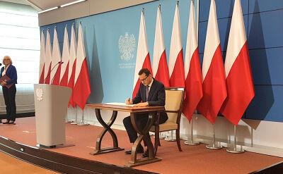 """Wspólna deklaracja premierów Polski i Izraela. """"Chodzi nam o prawdę i tylko o prawdę"""""""