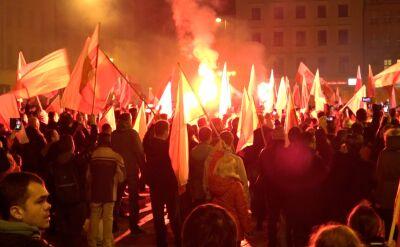 Rozwiązany marsz we Wrocławiu