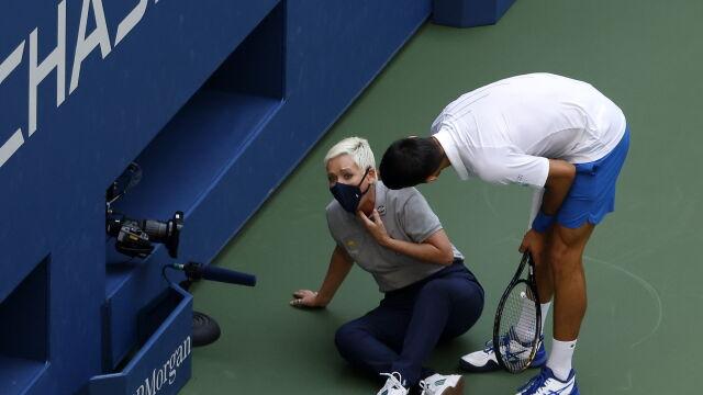 Djoković o skandalu w US Open: nie sądzę, bym kiedykolwiek o tym zapomniał