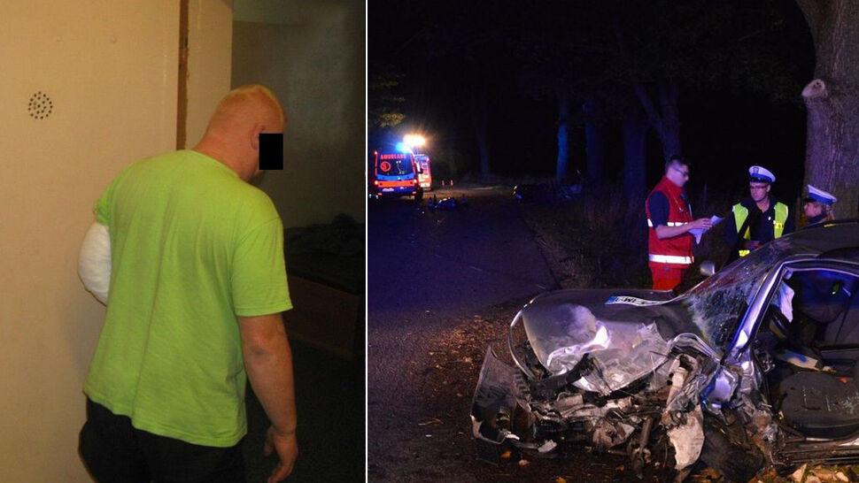 Pijany kierowca zabił kobietę w ciąży i jej męża. Sąd zmniejszył mu karę