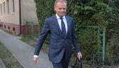 """Tusk w drodze do prokuratury. """"Tu nie o nastrój chodzi"""""""
